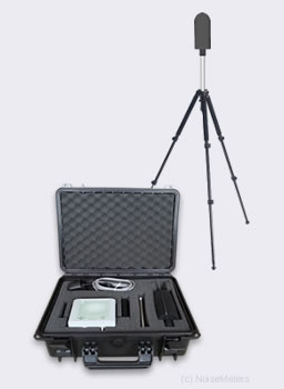 portable wireless environmental noise monitor